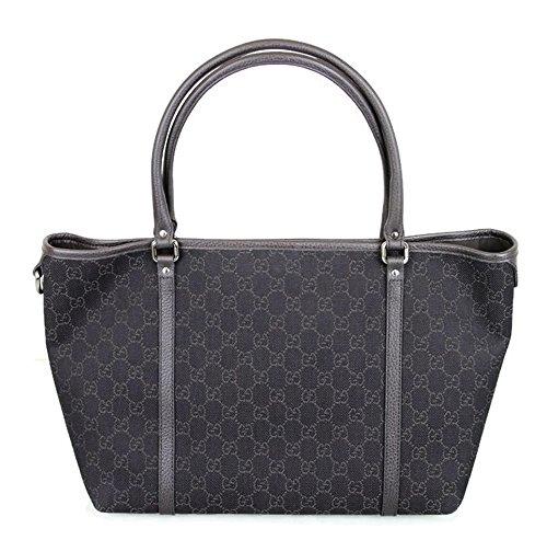 Gucci Brown Denim GG Joy Tote Bag Handbag 265696 1086