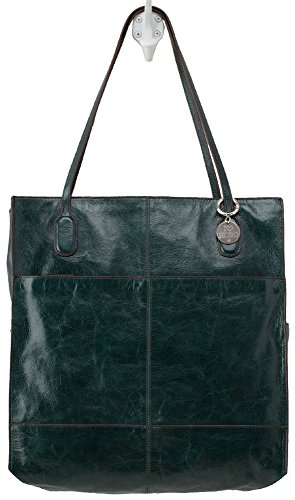Hobo Handbags Vintage Leather Finley Tote – Hunter