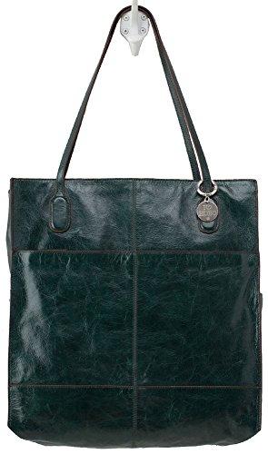 Hobo Handbags Vintage Leather Finley Tote – Hunter