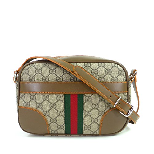 Gucci GG Supreme Canvas Shoulder Bags, 387507