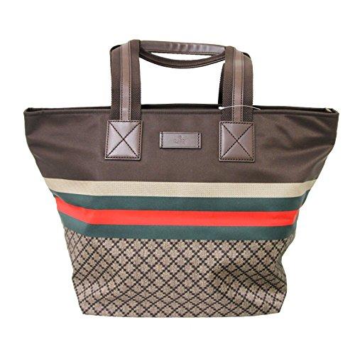 Gucci Unisex Brown Diamante Travel Tote Bag 267922 8636