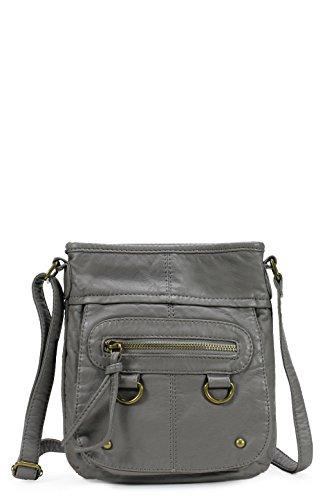 Scarleton Soft Washed Vintage Crossbody Bag H1814