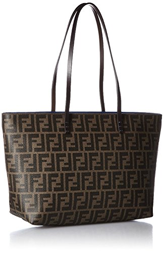 FENDI Zucca pattern 8BH198-00G87/F0A9Q Leather Tote Bag
