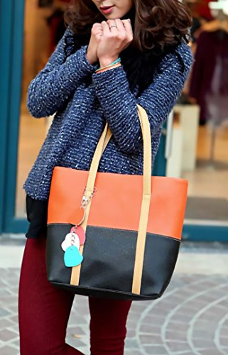 Josi Minea Beautiful & Elegant Leather Handbag / Top Handle Bag perfect for Casual, Business & Evening Outing
