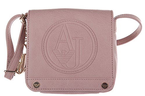 Armani Jeans women's cross-body messenger shoulder bag pink