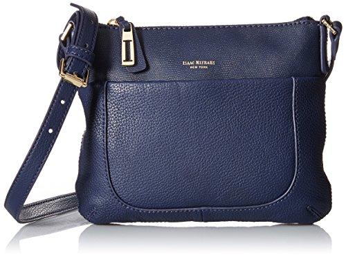 Isaac Mizrahi Designer Handbags: Leather Lileth Crossbody