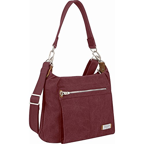 Travelon Anti-Theft Heritage Hobo Bag – Wine
