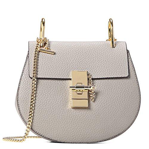 GEMATE Women's Genuine Leather Handbag