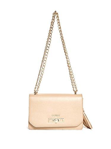 GUESS Women's Eyla Tassel Cross-Body Bag