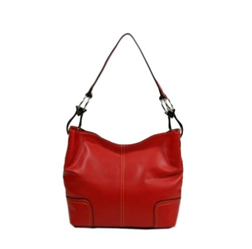 Tosca Hand Bag Handbag Purse 640 – (multiple colors), Red