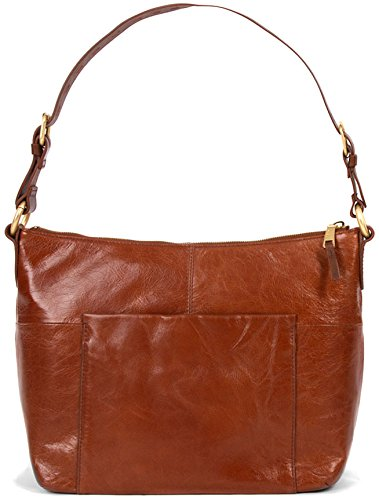 Hobo Handbags Vintage Leather Charlie Shoulder Bag – Henna