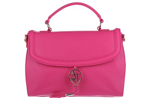Armani Jeans women's handbag shopping bag purse nappine fucsia