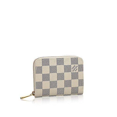 Louis Vuitton Damier Azur Canvas Zippy Coin Purse N63069