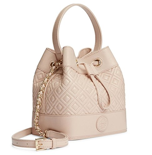 Tory Burch Marion Quilted Mini Bucket Crossbody Leather Bag