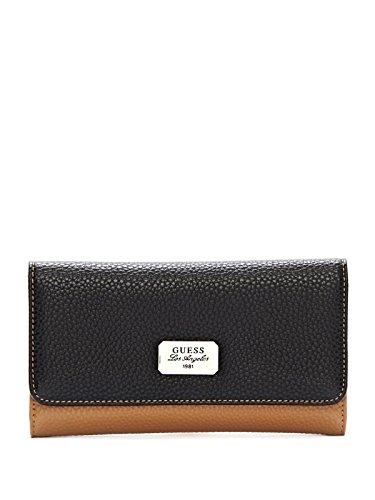 GUESS Women's Greenville Color-Blocked Slim Wallet