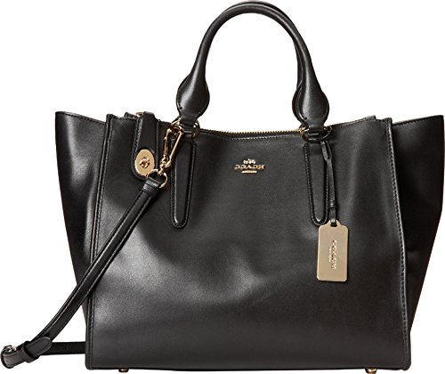 COACH Women's Smooth Leather Crosby Carryall