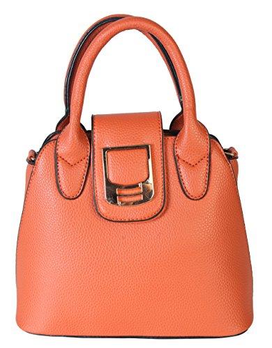 Diophy Ladies Fashion Mini Satchel Structured Handbag XB-2341