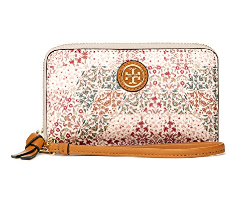 Tory Burch Kerrington Iphone 6 Smartphone Wristlet Beige Pastel Breast Cancer Limited Edition New