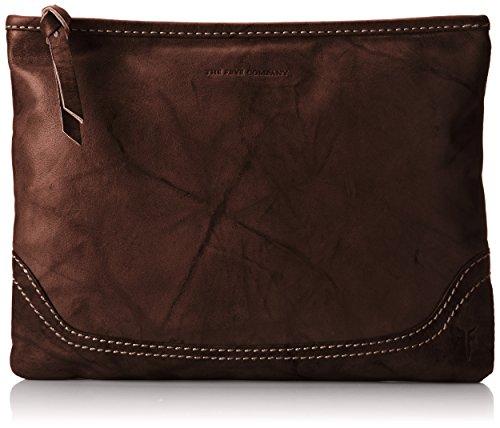 FRYE Campus Zip Pouch Notebook Handbag