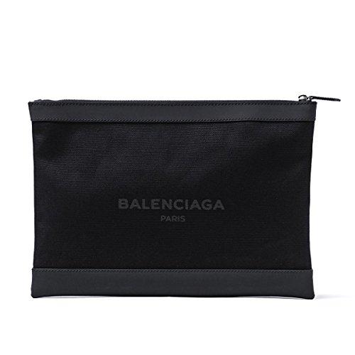 BALENCIAGA bag/clutch NAVY CLIP L NOIR black series 373840