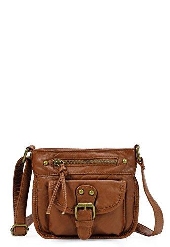 Scarleton Washed Belt Accent Crossbody Bag H1815