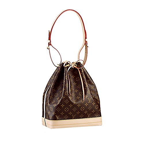 Authentic Louis Vuitton Monogram CanvasNo¨¦ Shoulder Bag Strap Handbag Article: M42224 Made in Italy
