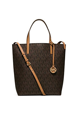 Michael Kors Women's Large Hayley Convertible Leather Shoulder Tote