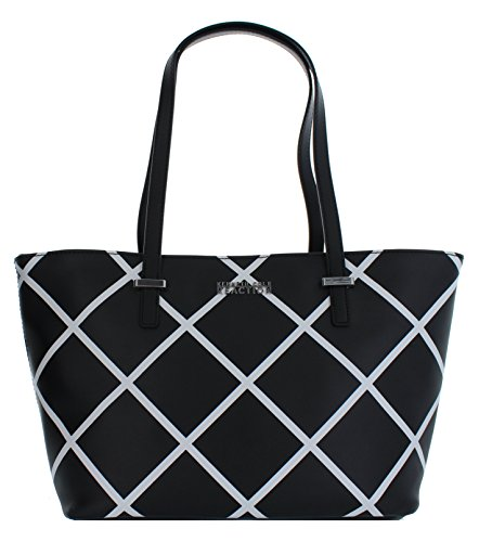 Kenneth Cole Reaction Duplicator Tote (Window Black/White)