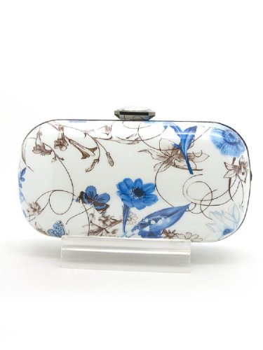 Hearty Trendy Floral Print Clutch