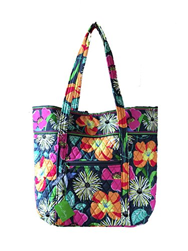 Vera Bradley Vera Tote Bag Carry All in Jazzy Blooms