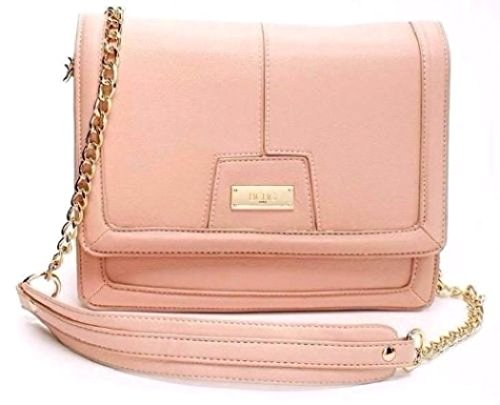 BCBG Paris Peach Chic Crossbody Bag