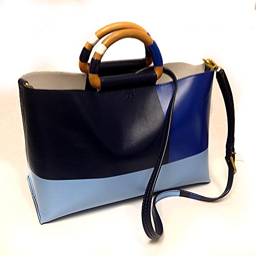 Tory Burch East-to-west Color Block Shoulder Bag