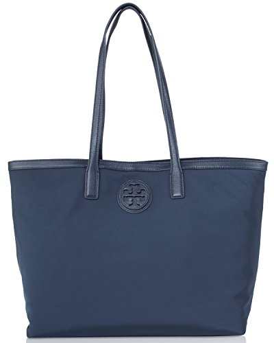 Tory Burch Nylon Shoppers Tote – Normandy Blue