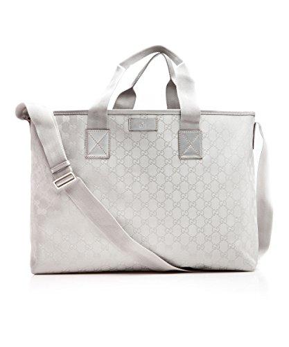 Gucci Silver Tote Bag