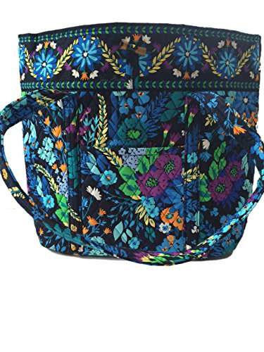 Vera Bradley Vera Tote Bag Carry All in Midnight Blues