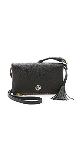 Tory Burch Robinson Pebbled Leather Mini Fold-over Cross-body Bag