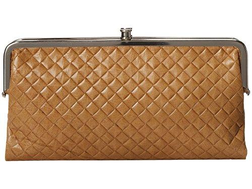 Hobo International Lauren Leather Wallet Clutch, Doe
