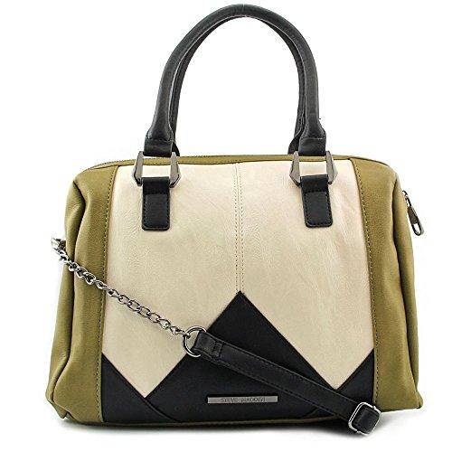Steve Madden DO258625 Women Faux Leather Satchel