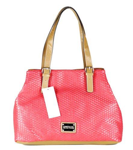 "Kenneth Cole Reaction Women's Handbag ""Basket Shopper"" Style 1261"