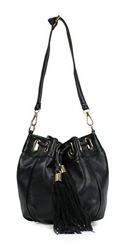 Scarleton Trendy Tassel Hobo Bag H1799