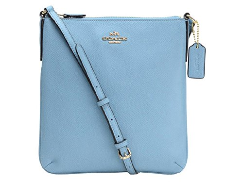 Coach Crossgrain Leather North/South Crossbody 36063 Bluejay