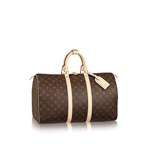 Louis Vuitton Monogram Canvas Keepall 45 Travel Bag M41428