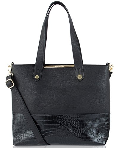 Steve Madden Bmorgan Shoppers Tote Bag – Black
