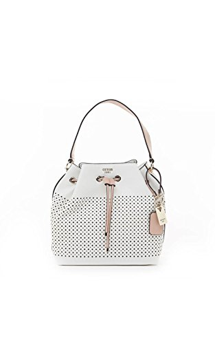 GUESS Juliana Perforated Bucket Bag
