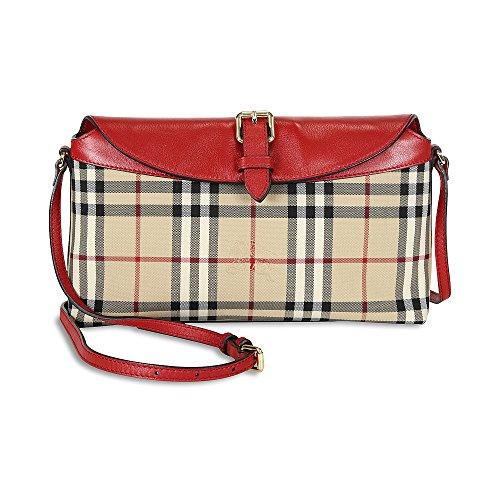 Burberry Small Horseferry Check Clutch Bag