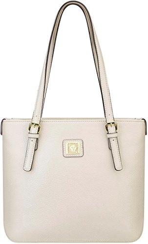 Anne Klein Perfect SM Shopper Tote Bag, Sugar, One Size