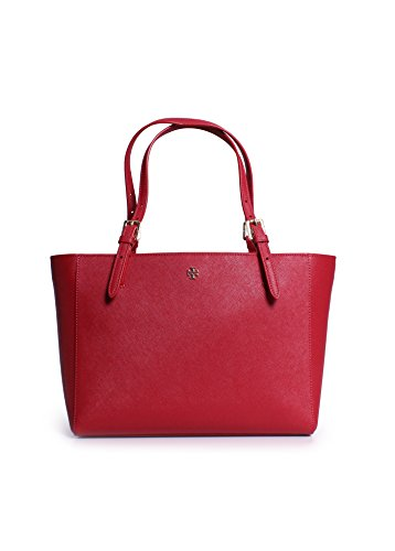 Tory Burch York Buckle Small Tote in Kir Royale