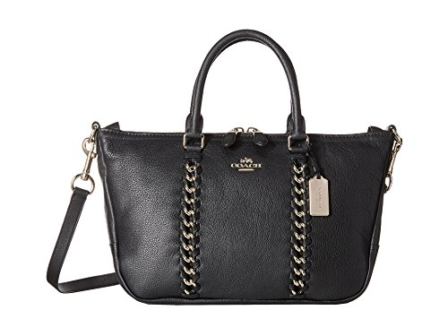 Coach Jumbo Whiplash Tote in Black / Gold