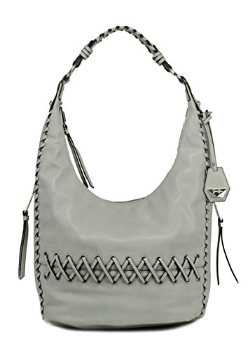 Jessica Simpson Tyson Whipstitch Hobo Shoulder Bag, Storm Grey