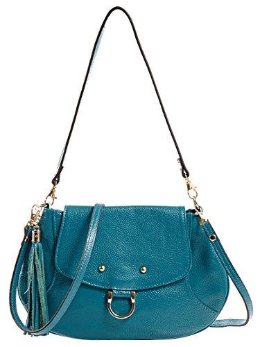 Heshe Women's Cow Leather Dating Shopping Hobo Cross Body Shoulder Bag Satchel Handbag